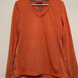 Aeroknit Adidas Orange Long Sleeve